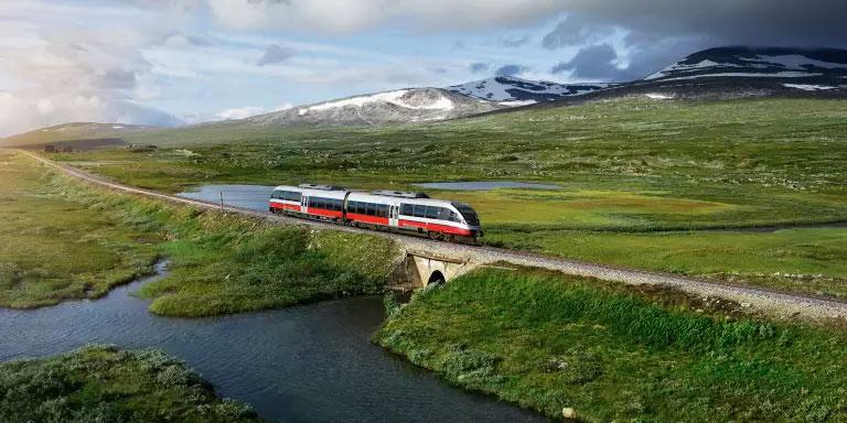 Du biogaz pour les trains norvégiens