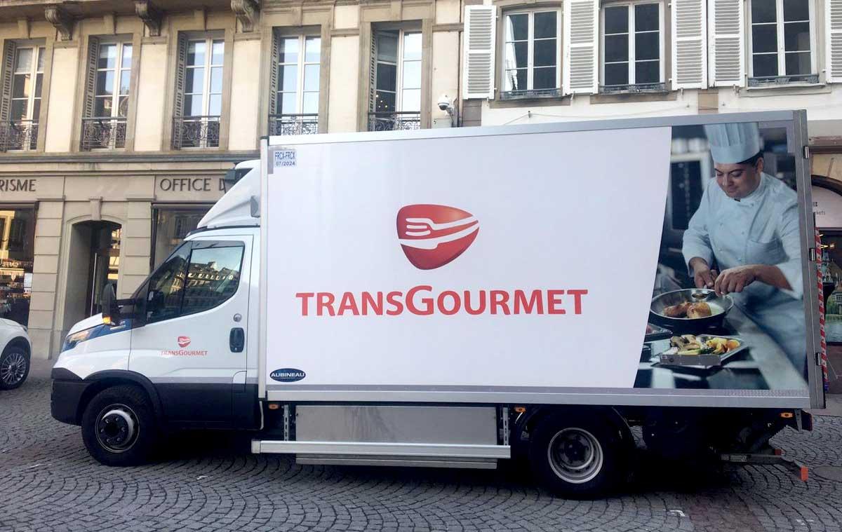 Transgourmet pionnier de la logistique GNV à Strasbourg