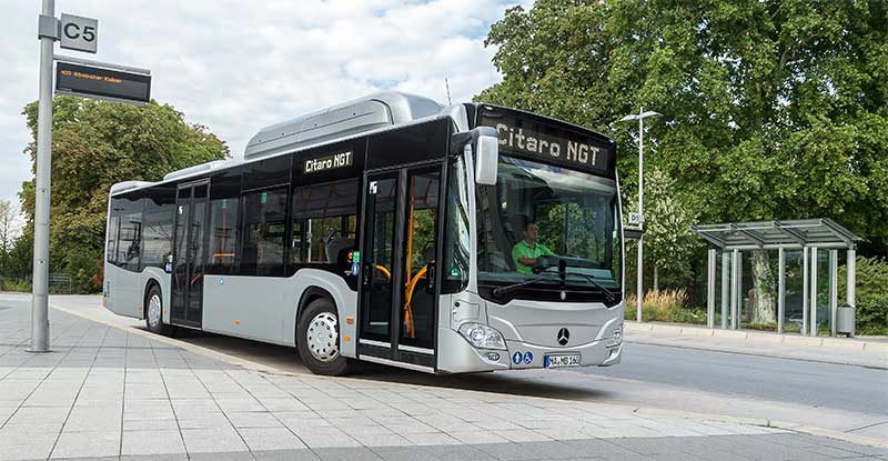 Transports publics : plus de 40 % des op�rateurs songent aux bus GNV