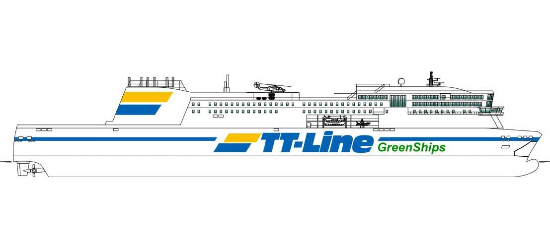 TT-Line passe commande d'un navire GNL