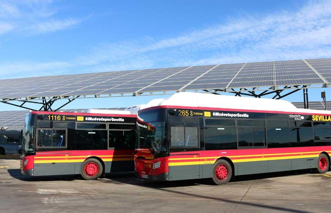 Espagne : 14 nouveaux bus au gaz naturel à Séville