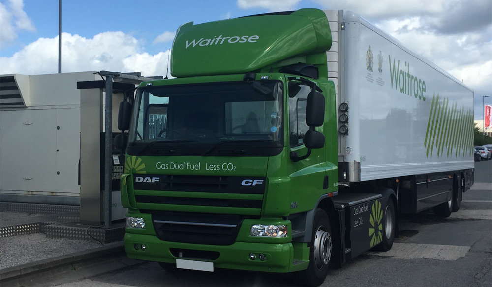 Angleterre � Second rapport pour l�exp�rimentation � Low Carbon Truck �