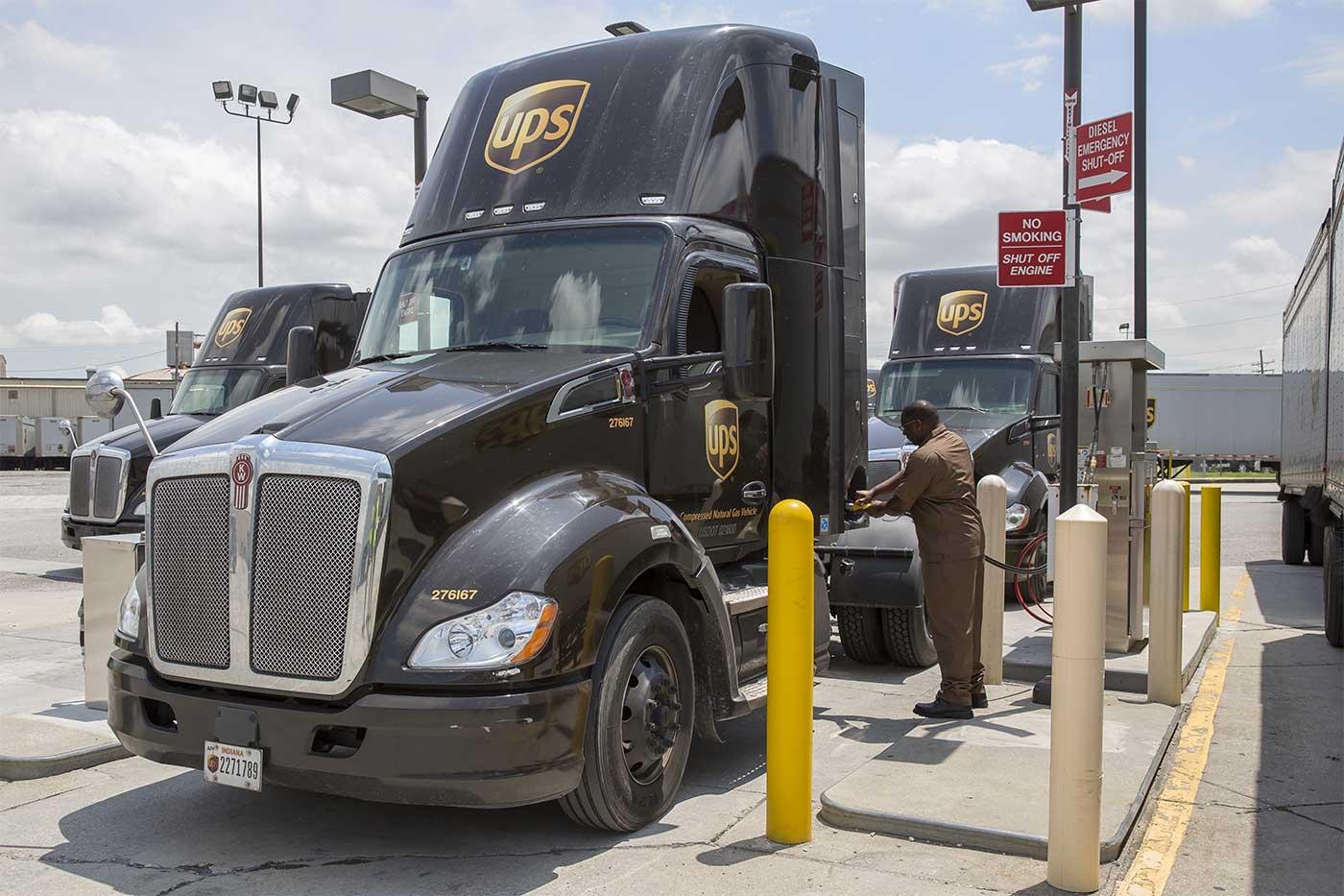 UPS abandonne le diesel au profit du bioGNV
