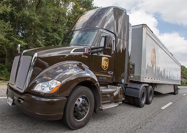 UPS investit dans 440 nouveaux véhicules au GNV