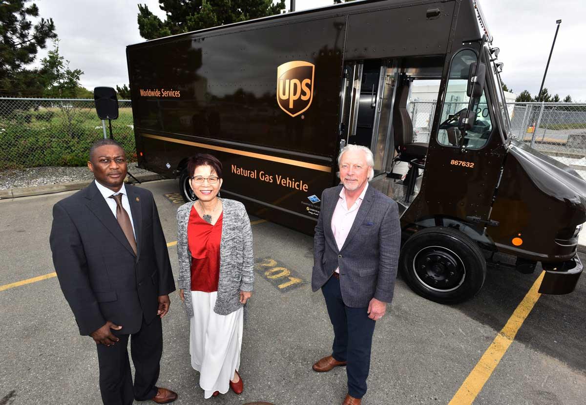 Canada : UPS étend sa flotte de véhicules GNV