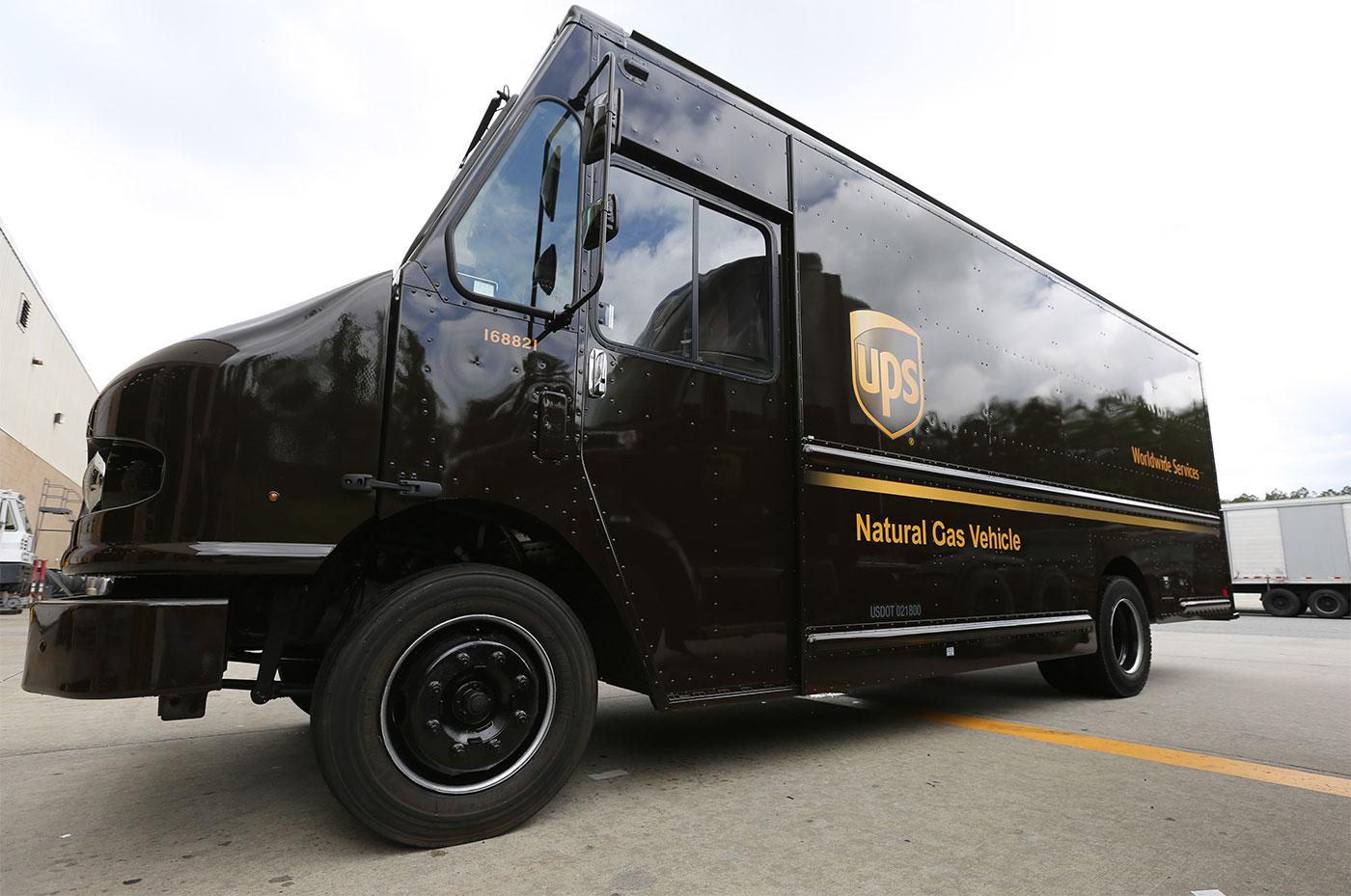 6.000 nouveaux camions GNV pour UPS aux Etats-Unis