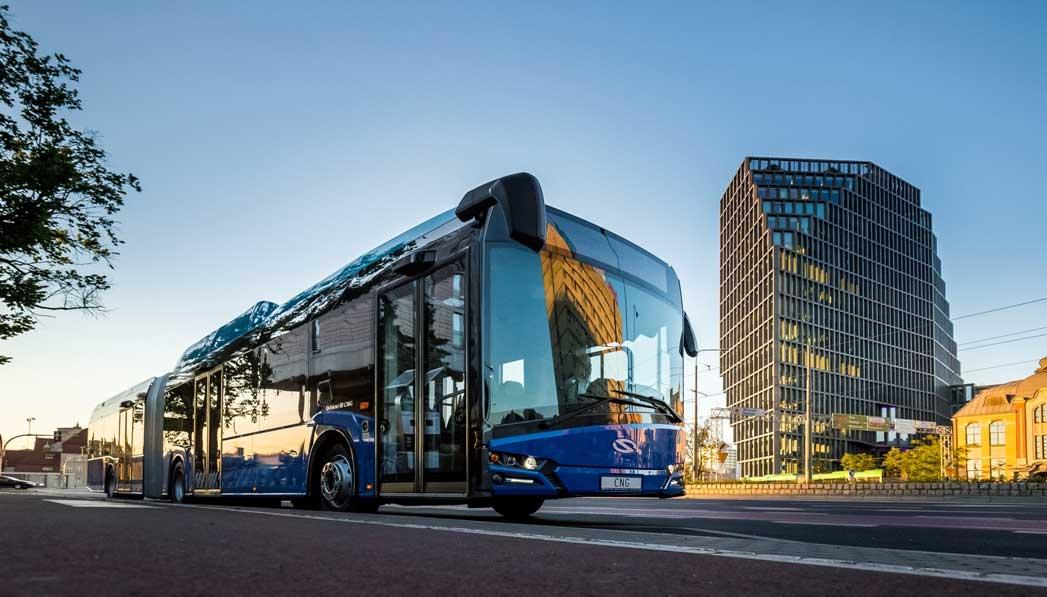 Solaris va livrer des bus articulés au GNV à la RATP