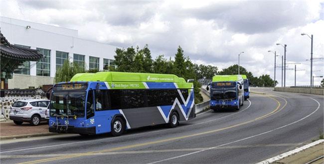 USA : plein cap sur le financement des bus au gaz naturel