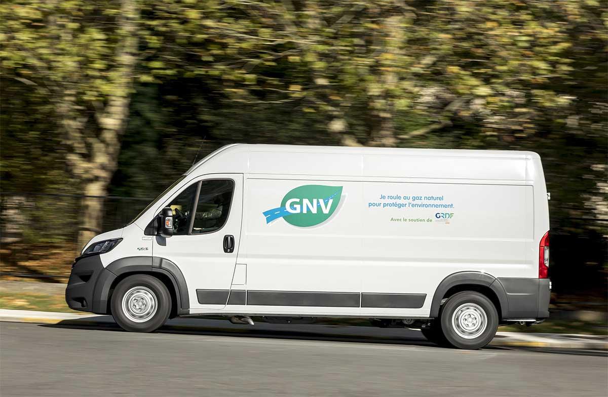 Utilitaires GNV : plus de 14.000 immatriculations en Europe en 2019