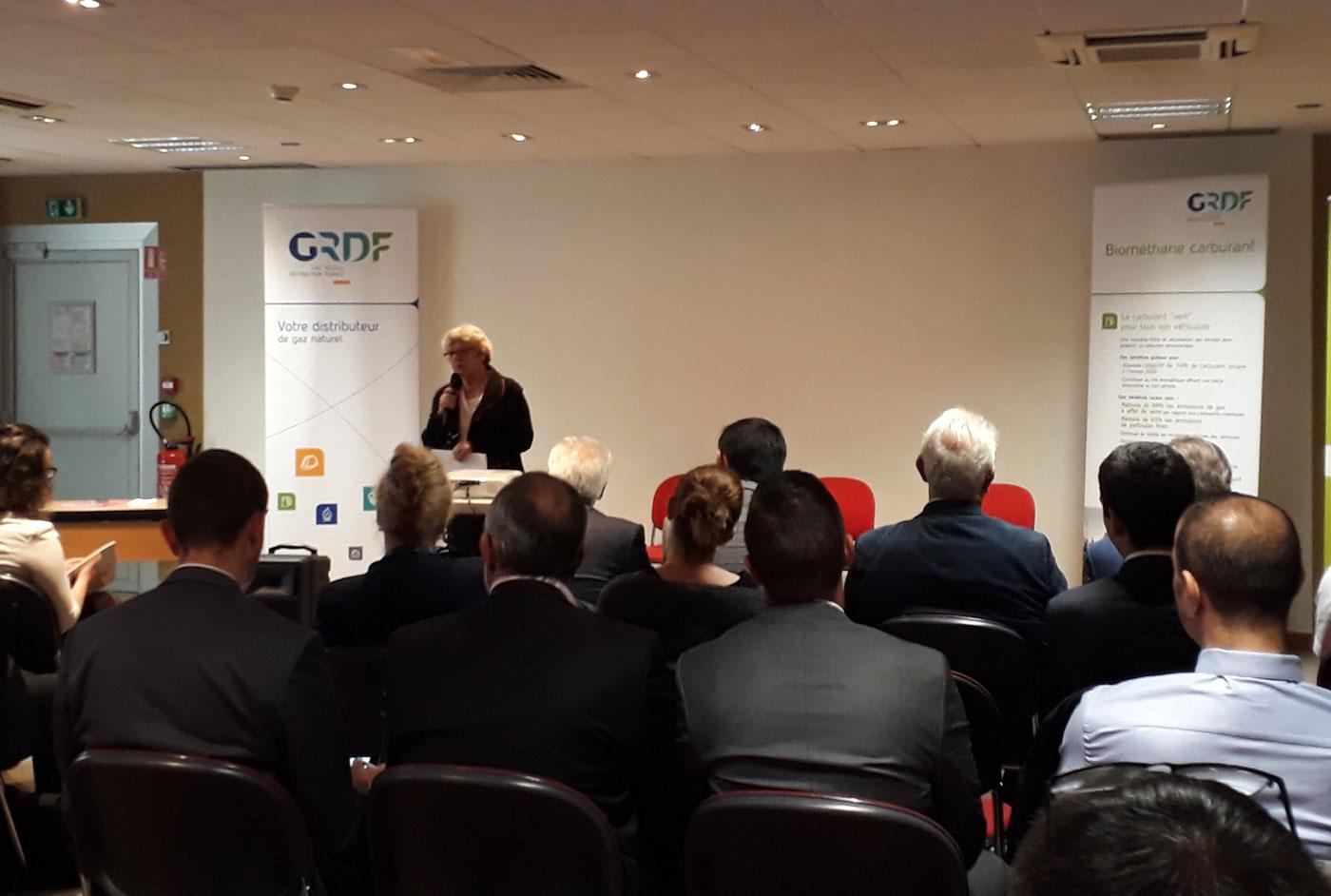 Val d'Oise : GRDF à la rencontre des professionnels pour promouvoir le GNV