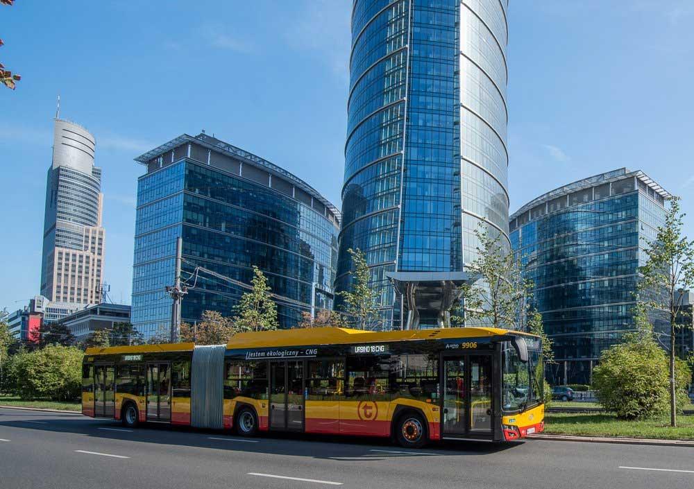 30 bus au GNV supplémentaires pour Varsovie