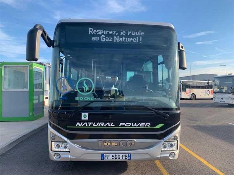 A Perpignan, Vectalia expérimente un bus au gaz naturel sur le réseau Sankéo
