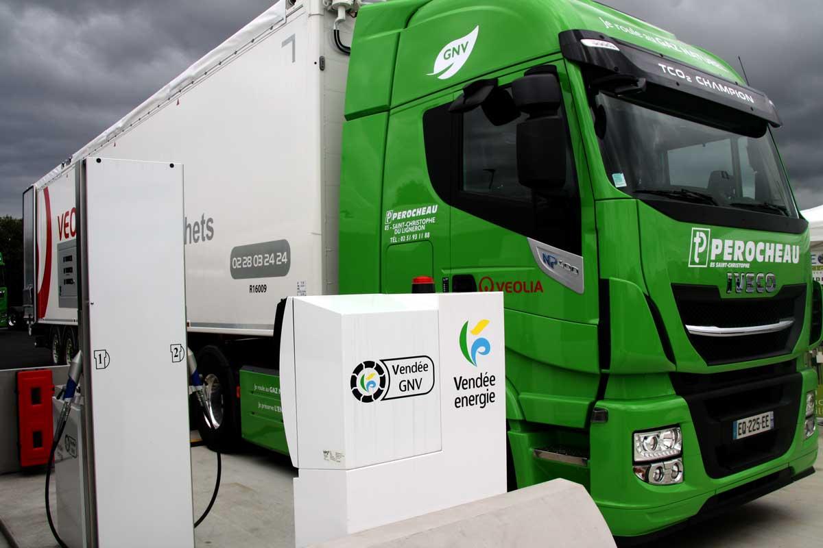 Vendée Energie inaugure la station GNV de La Chaize-le-Vicomte