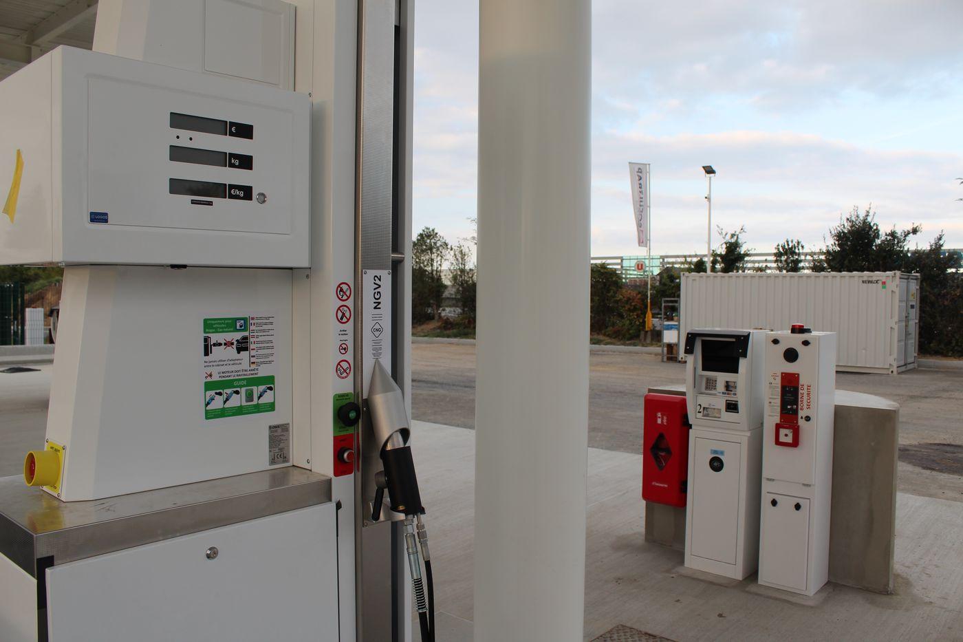 Vendée : Première visite à la future station GNV de La Roche-sur-Yon