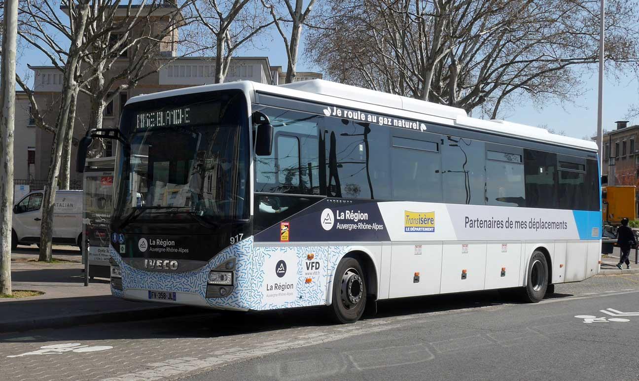 En Région Auvergne-Rhône-Alpes, VFD élargit sa flotte d'autocars GNV
