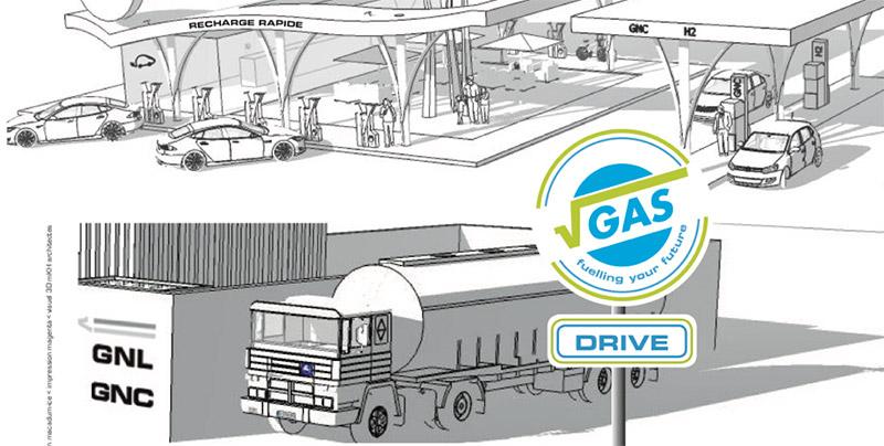 Proviridis : une première station VGAS Drive pour le Port de Marseille Fos