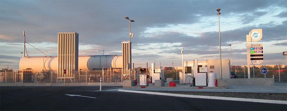 Proviridis ouvre sa première station GNLC VGas en région PACA