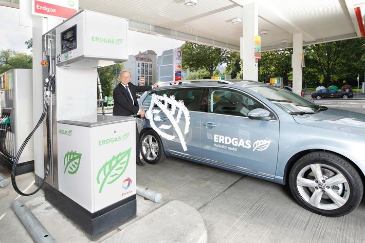 La voiture GNV pl�biscit�e en Allemagne