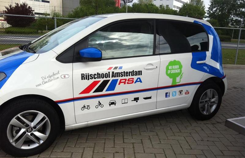 Des voitures GNV pour les auto-écoles néerlandaises