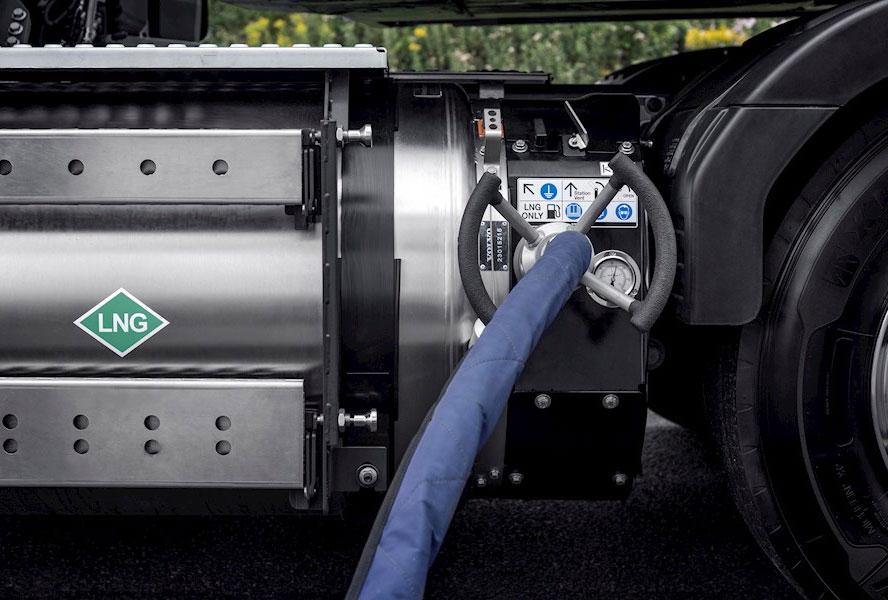 Volvo prend position en faveur du GNL