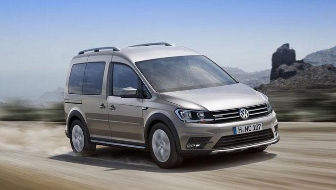 Le nouveau Volkswagen Caddy Alltrack passe au gaz naturel