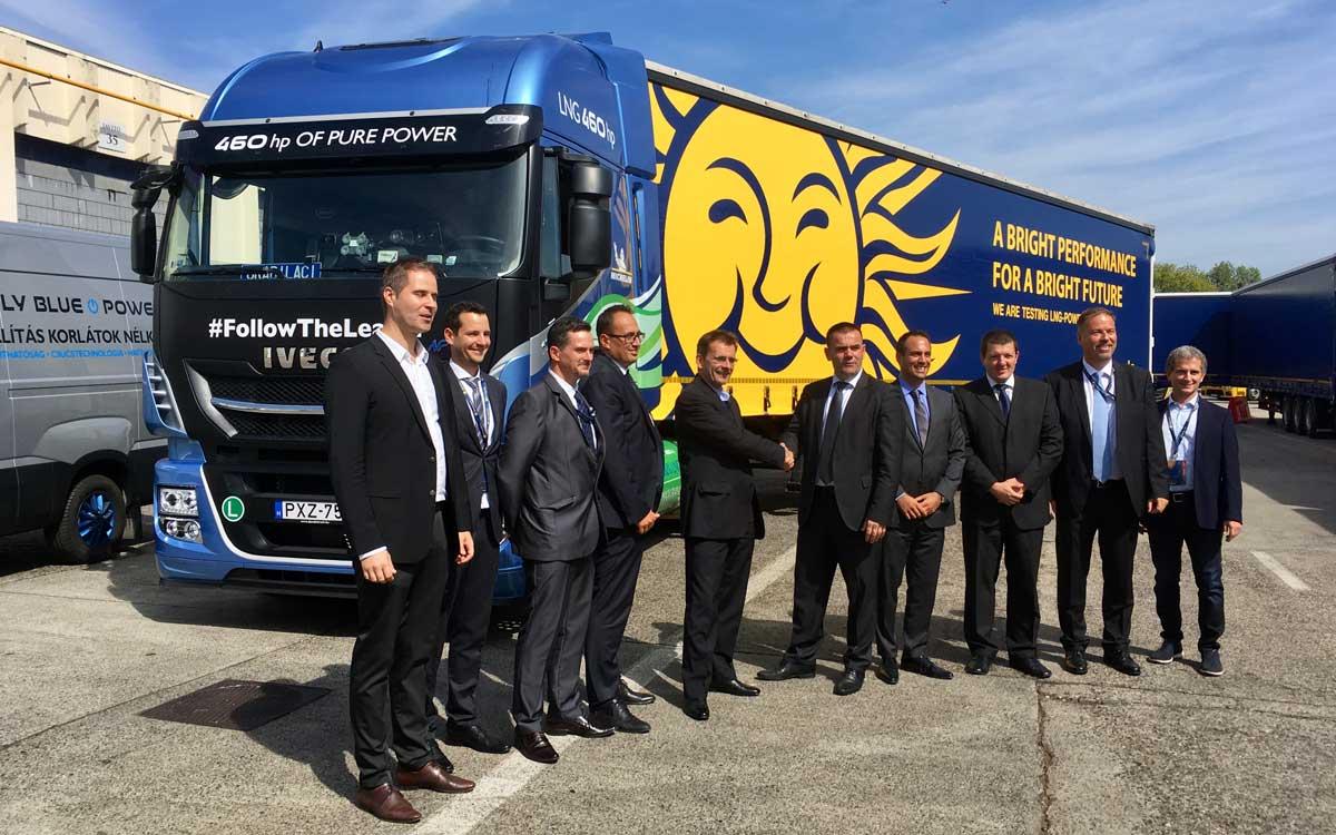 Hongrie : Waberer's va s'équiper en camions GNV