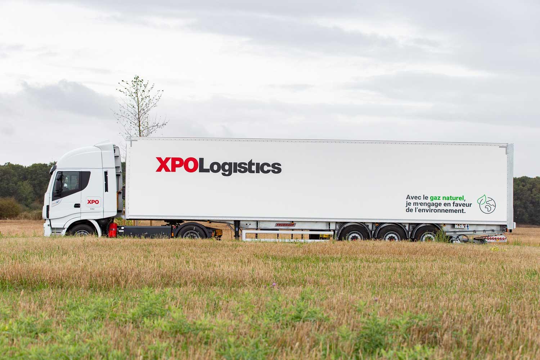 XPO Logistics commande 100 nouveaux camions GNV à Iveco