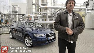 Audi A3 G-tron - Le gaz naturel � l�essai sur Auto-Moto