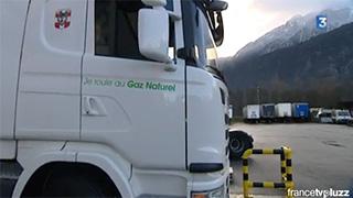 Camion GNV - Quand le projet équilibre s'invite sur France 3